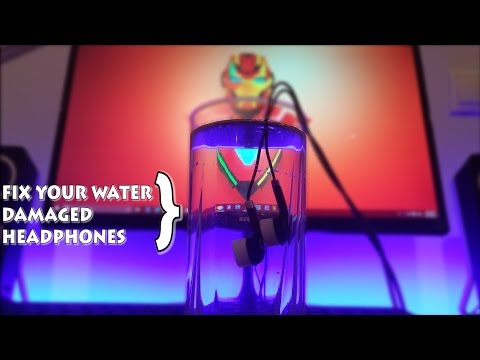 How to Fix Water-Damaged Headphones!  (4K)