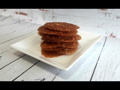 Lace Cookies || Alpenliebe Cookies || Tuile Cookie || Crispy French Wafer