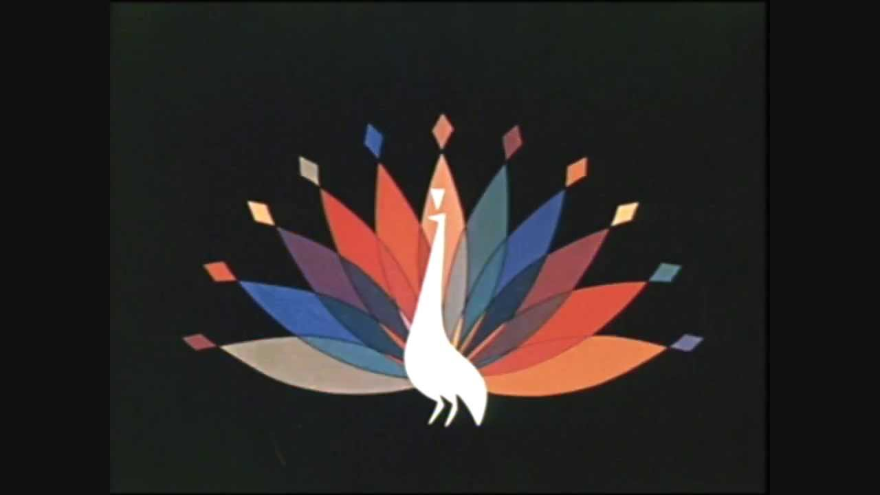 Late 1950 S Nbc Peacock Color Logo Youtube