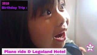 Birthday Trip to Legoland Malaysia   Plane ride. Legoland Hotel