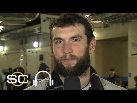 Andrew Luck 'thankful' for Colts' win vs. Titans, playoff berth after 'dark moments' | SVP on SC