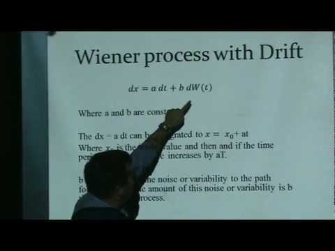 Brownian Motion (Wiener process)