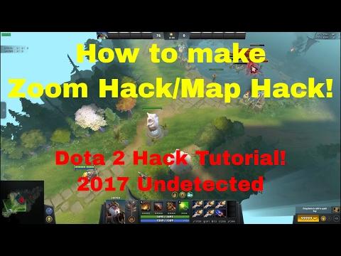 Dota 2 Hack Tutorial (Zoom Hack/Map Hack/Undetected) 2017