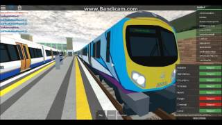 (Fixed) Playing Roblox #1 - Mind the Gap - Trains at Herrington