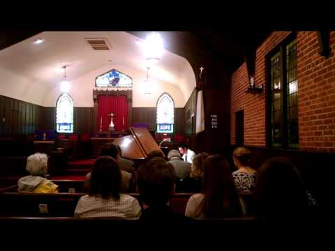 Kevin Wang, piano, lions club, bland competition, second round, first place, 03122016, part 2/2