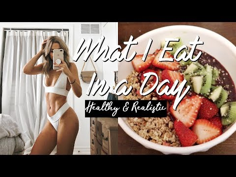 WHAT I EAT IN A DAY 2018 🥗🍌 Healthy & Realistic (DAIRY FREE)