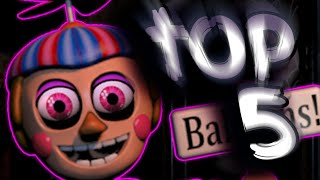 Top 5 Balloon Boy/ Girl Theories!    Five Nights At Freddy