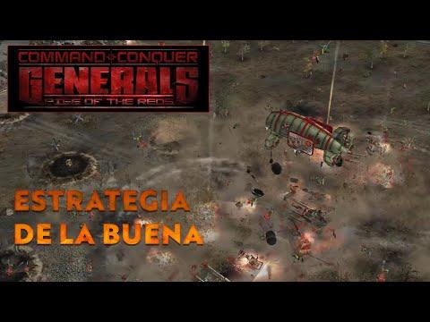 MOD Command & Conquer Generals Rise Of The Reds | Estrategía De La Buena!