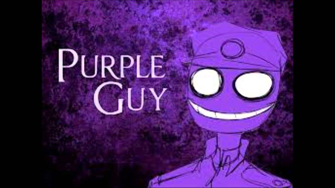 purple gay man