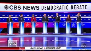 Democratic Debate: Did Clear Front-Runner Emerge?, Part 1 | The View
