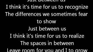 Rush-Entre Nous (Lyrics)