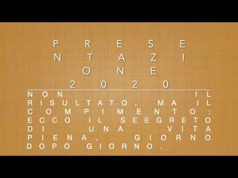 Presentazione 2020
