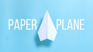 How to make Paper Airplane ORIGINAL Origami Paper Plane