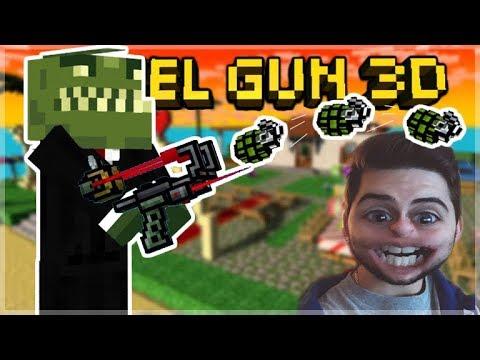 THIS WEAPON IS SOOO MUCH FUN!! BOMBER SLINGER Pixel Gun 3D