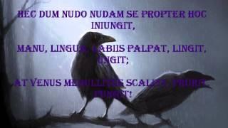 Corvus Corax De Mundi Statu