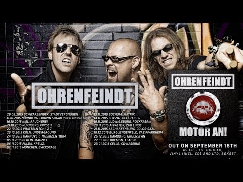 OHRENFEINDT - Motor An (2015) // Official Audio // AFM Records