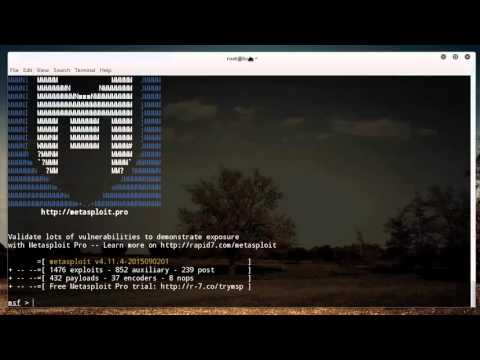 Metasploit for Network Security Tutorial - 1 - Introduction