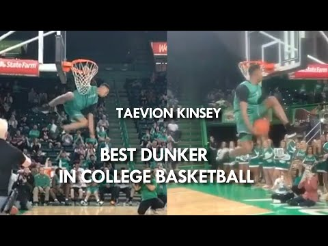 He did 3 DUNKS NEVER DONE in the NBA Dunk Contest! Taevion Kinsey BEST NCAA Dunker?