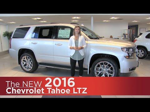 New 2016 Chevrolet Tahoe LTZ - Minneapolis, St Cloud, Monticello, Buffalo, Rogers, MN Review
