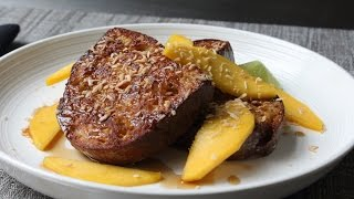 Coconut Cream French Toast - How to Make Coco...