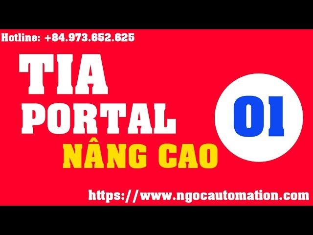 TIA portal nâng cao 01 - Quản lý người dùng