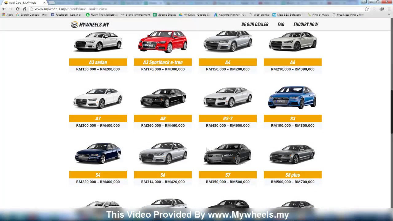 Audi Car Model Cheapest Price In Malaysia YouTube - Audi all car price