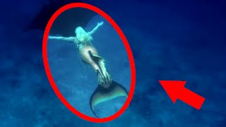 Mysterious Creatures  + REAL Mermaids Caught on Tape