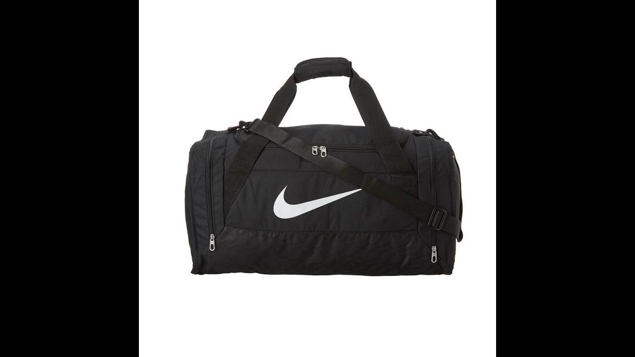 nike brasilia 6 duffle bag - YouTube a60ac39320001