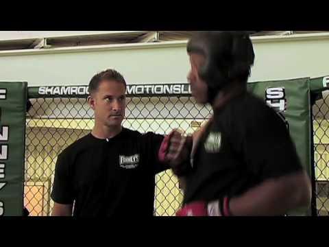 Burwell Trains MMA Style