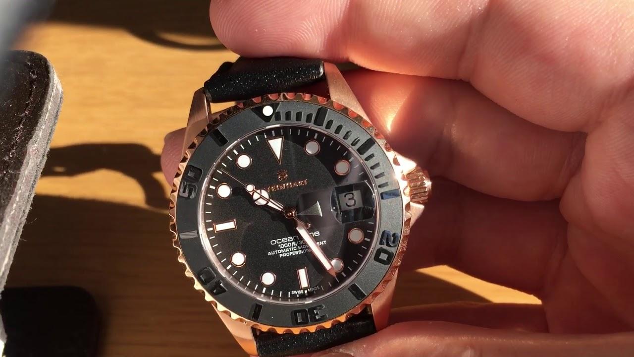 Steinhart Ocean One 39mm Pink Gold quick review