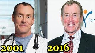 Как изменились актёры сериала Клиника? (Тогда и сейчас)