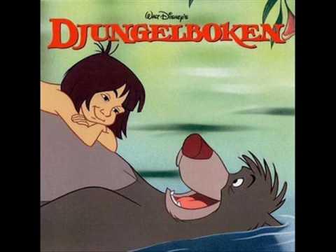 The Jungle Book soundtrack: The Bare Necessities (reprise) (Swedish)