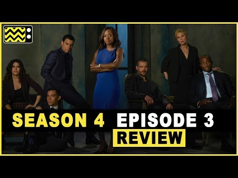 How to Get Away With Murder Season 4 Episode 3 Review & AfterShow | AfterBuzz TV