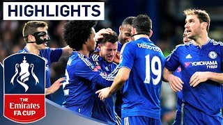 Repeat youtube video Chelsea 5-1 Man City - Emirates FA Cup 2015/16 (R5) | Goals & Highlights