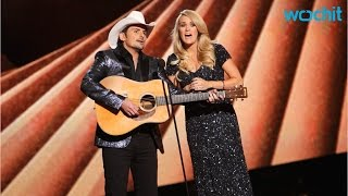 2016 cma awards will feature co hosts brad paisley and carrie underwood