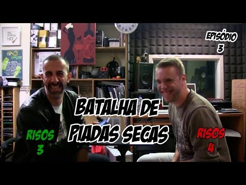 Batalha de Piadas Secas Ep.3 - João vs Jorge | NãoQueresNada