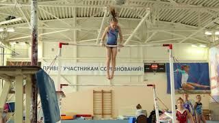 Упражнение на брусьях! Аня Крайнова. 3й взрослый разряд. 07.04.18.