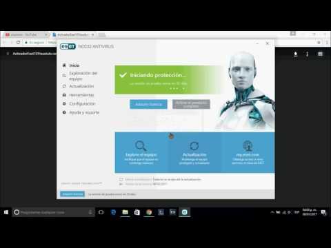 descargar ESET NOD32 10 antivirus 2017 (32 y 64 bits)  español + activacion de por vida