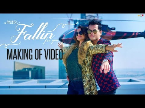 Making Of Video Fallin For You - Shrey Singhal  | DirectorGifty