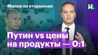 Путин vs цены на продукты — 0:1