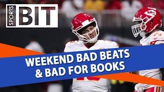 Weekend Bad Beats & Bad for Books Recap | Sports BIT | Monday, Aug. 20