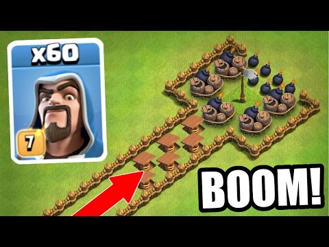 "Thumbnail: HOW MANY WILL SURVIVE!?! - Clash Of Clans ""The Wizard Train!"""