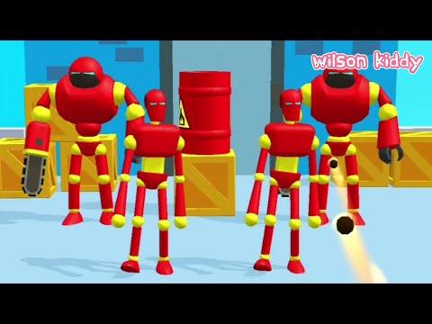 Bocil vs Robot