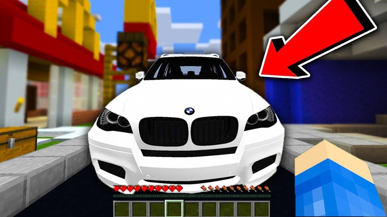 MINECRAFT FERAJNA – MOJE NOWE AUTO BMW!!!!!!!