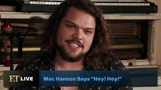 ET talks with the youngest brother, Mac Hanson, about pursuing his own career in music. ET Live Is Here and Streaming 24/7: ...