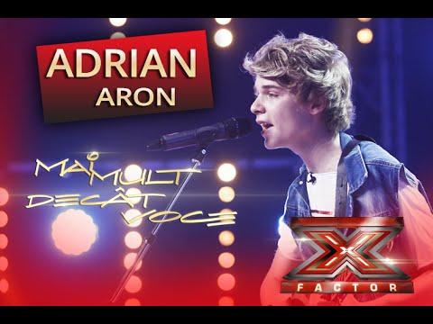 "Passenger - ""Let her go"". Interpretarea lui Adrian Aron la X Factor"