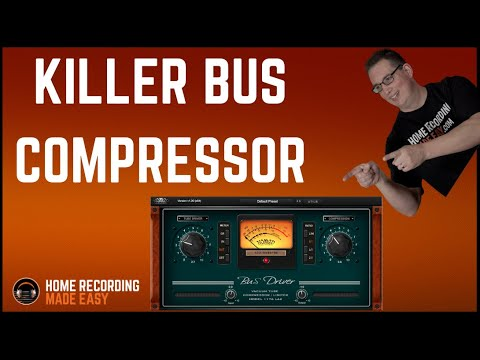 Nomad Factory Bus Driver Compressor | Plugin Review