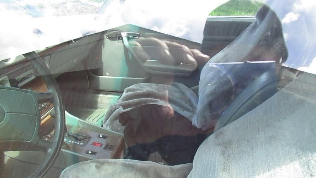 1986 Mercedes Benz 560sl brake vacuum broken hard braking , signal ...