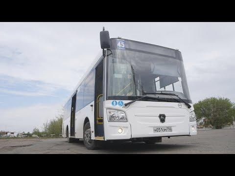 В Оренбурге на маршруты вышли современные автобусы