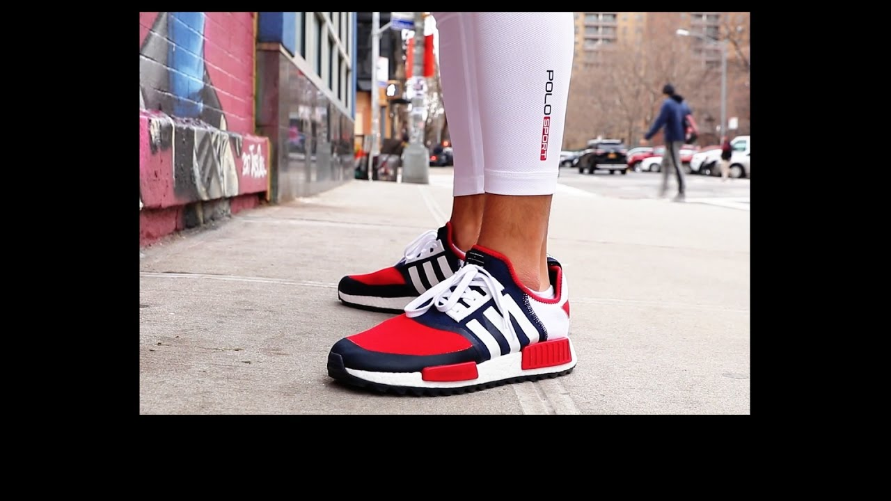 21b63d7f735 ADIDAS WHITE MOUNTAINEERING NMD ON FEET REVIEW + LO DOWN WHILE DIGGIN IN  THE CRATES IN L.E.S - YouTube